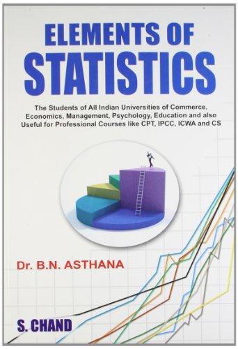 Elements of Statistics: Dr. B.N. Asthana
