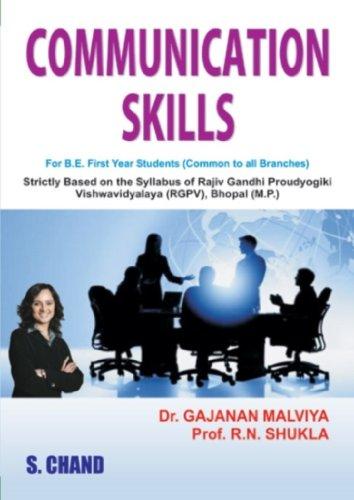 COMMUNICATION SKILLS: GAJANAN MALVIYA,R.N.SHUKLA,