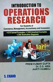 Introduction to Operations Research: Aarti Kamboj,Prem Kumar
