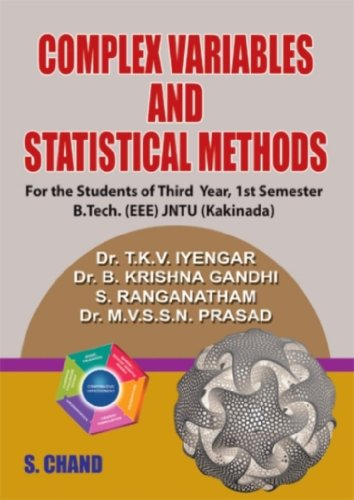 Complex Variables and Statistical Methods: JNTU (Kakinada),: Dr B. Krishna