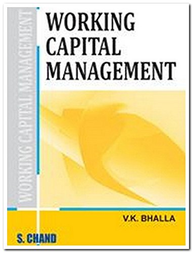 Working Capital Management: V.K. Bhalla