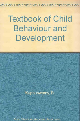 9788122001631: A Textbook of Child Behavior and Development