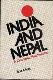 9788122001815: India and Nepal: A Changing Relationship