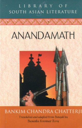 Anandamath: Chatterji; Bankim Chandra