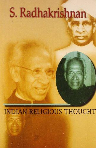 Indian Religious Thoughts: S. Radhakrishnan