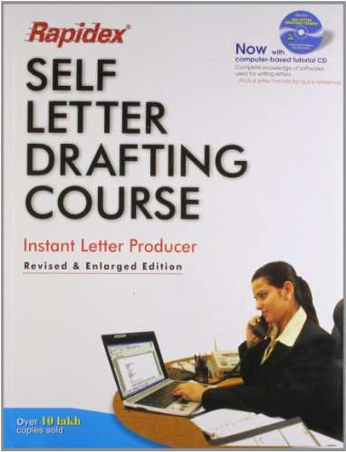 Rapidex Self Letter Drafting Course: Pustak Mahal Editorial