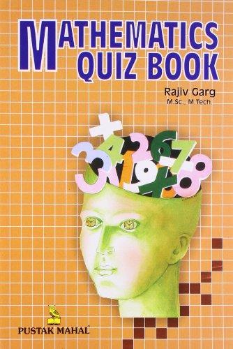 9788122303636: Mathematics Quiz Book