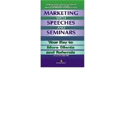 9788122304244: Marketing with Speeches and Seminars