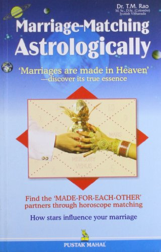 Marriage Matching Astrology: T.M.Rao
