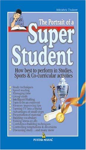 9788122307320: The Portrait of a Super Student