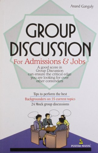 9788122307771: Group Discussion: For Admission and Jobs