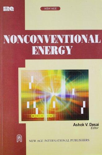 Nonconventional Energy: Ashok V. Desai