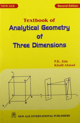 textbook of Analytical Geometry of Three