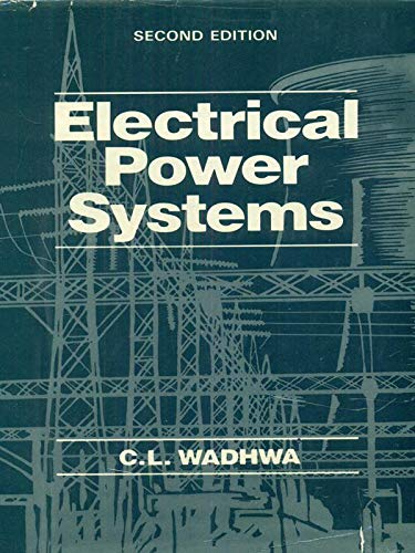 Electrical Power Systems By C L Wadhwa Free Pdf Download