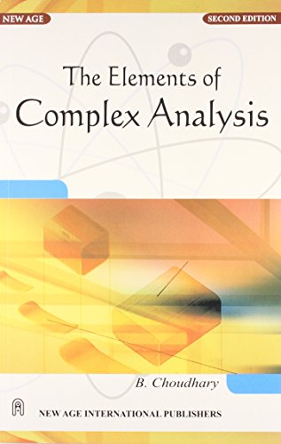 9788122403992: The Elements of Complex Analysis