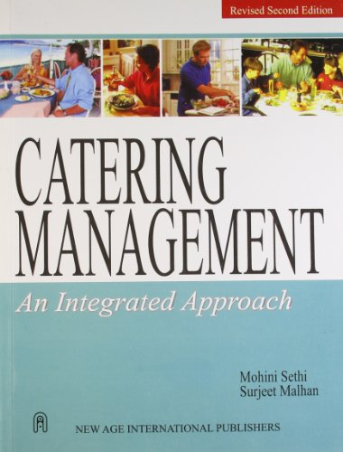 Catering Management: An Integrated Approach: M. Sethi,S. Malhan
