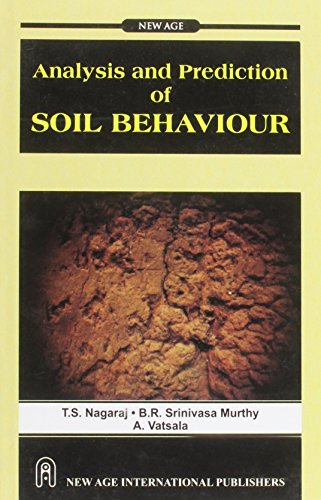 9788122406337: Analysis and Prediction of Soil Behaviour