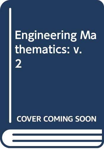 Engineering Mathematics, Volume-Ii, First Edition: Rao, H.S.G.