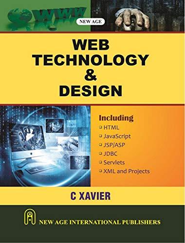 Web Technology and Design: C. Xavier