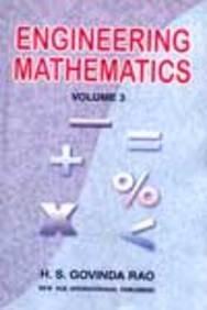 Engineering Mathematics: Rao H S.G.