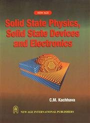 9788122415001: Solid State Physics, Solid State Devices and Electronics