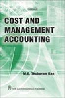 Cost and Management Accounting: Thukaram Rao, M.E.