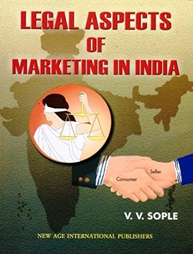 Legal Aspects of Marketing in India: V.V. Sople