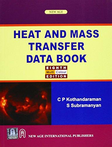 9788122415520: Heat and Mass Transfer Data Book