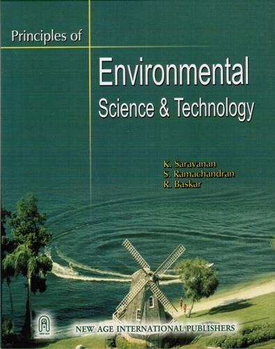 9788122415841: Principles of Environmental Science and Technology