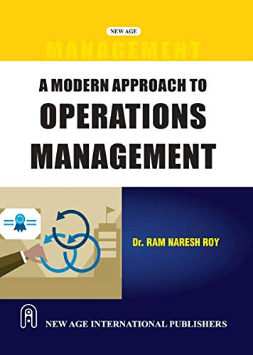 9788122416275: A Modern Approach to Operations Management