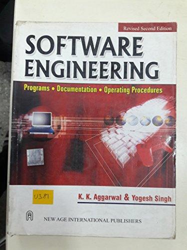 9788122416381: Software Engineering