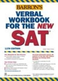 Barron's Verbal Workbook for the New SAT