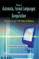 9788122416558: Theory of Automata, Formal Languages and Computation (as Per UPTU Syllabus)