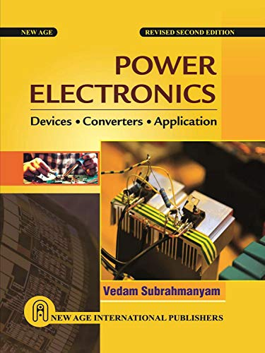 Power Electronics Power Electronics, V. Subrahmanyam, New, 9788122417470 This book provides a comprehensive and a rigorous analytical treatment of static power converters employing mainly thyristors. These power converters include phase controlled line commutated converters, cycloconverters, A.C. voltage controllers, D.C. choppers and inverters. It gives a detailed discussion of the devices which include GTOs and MOSFETs. The analysis in this book is based on circuit approaches and conclusions are aimed at helping in the design of converters. Some important features of the book are: * In-depth coverage of solid state power converters * Extensive comparative analysis of power converters with a view to providing design criteria * Numerous worked examples, practice problems and multiple choice questions for an in-depth and clear understanding of concepts * Application of converters in the speed control of electric motors is discussed in detail This book would serve as a useful text for undergraduate and graduate courses in Power Electronics and also as a reference for practicing engineers who are involved in the design and development of the power electronic converters. Printed Pages: 880.