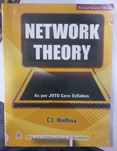 Electrical Circuits (As Per Jntu Syllabus), Second: Wadhwa, C.L.