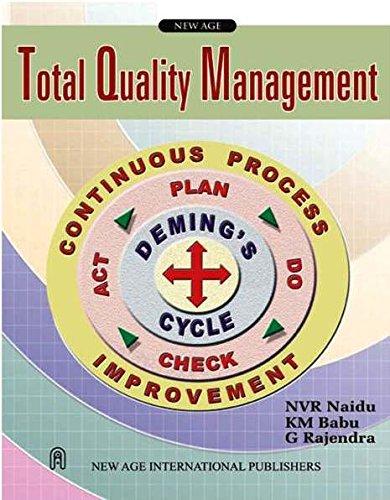 Total Quality Management: G. Rajendra,K.M. Babu,N.V.R. Naidu