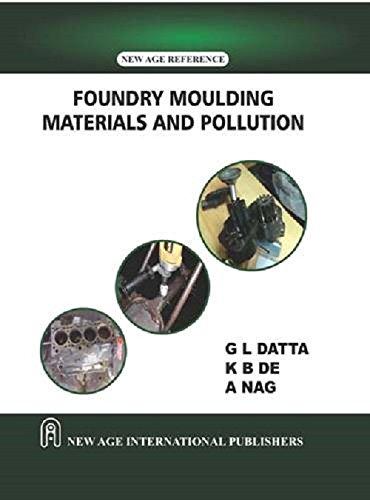 Foundry Moulding Materials and Pollution: G. L. Datta, K. B. De, A. Nag