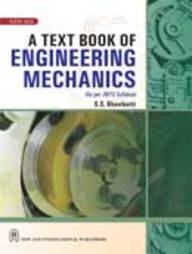 9788122418491: A Textbook of Engineering Mechanics: (as Per JNTU Syllabus)