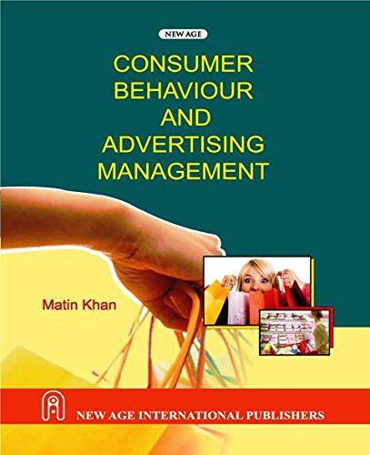 9788122419474: Consumer Behaviour and Advertising Management