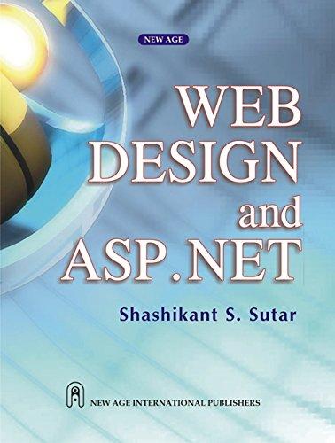 Web Design and ASP.NET: Shashikant S. Sutar