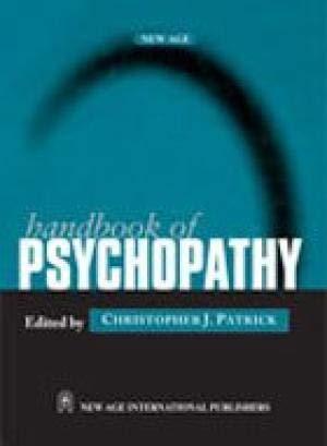 9788122421071: Handbook of Psychopathy
