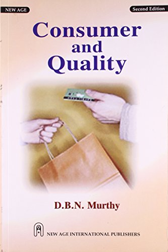 9788122421330: Consumer and Quality