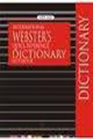 9788122422085: International Webster's Quick Reference Dictionary Notebook