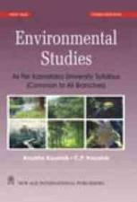 Environmental Studies: As Per Karnataka University Syllabus: Anubha Kaushik,C.P. Kaushik