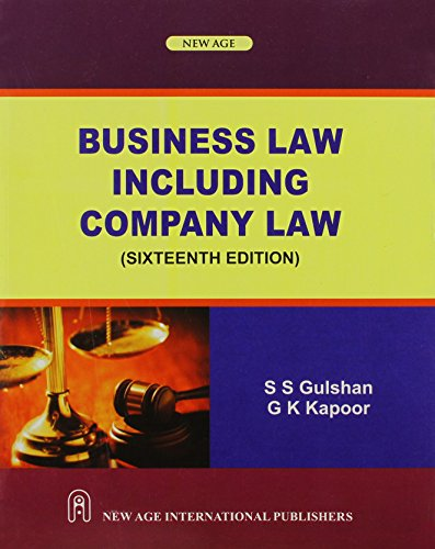 Business Law Including Company Law: G.K. Kapoor,S.S. Gulshan