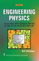 Engineering Physics (As Per New JNTU Syllabus 2007-08): M.R. Srinivasan