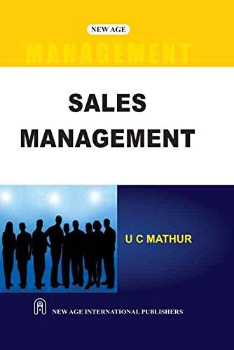 Sales Management: U.C. Mathur