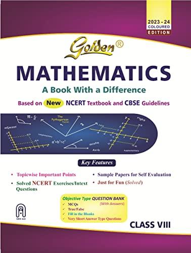 Golden Mathematics Reference book for Class- VIII: Kishan Hari