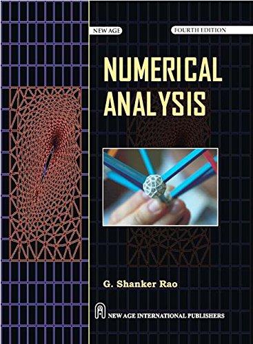 Numerical Analysis: G. Shanker Rao