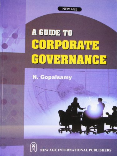 9788122425727: A Guide to Corporate Governance